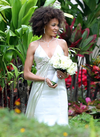 pictures of carlos santanas wedding and new wife cindy