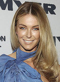 August 2004: Arriving at Myer's Spring/Summer Fashion Launch