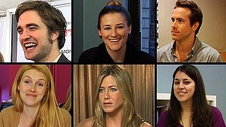 Video of Robert Pattinson, Jennifer Aniston, Ryan Reynolds, and More Celebrity Encounters