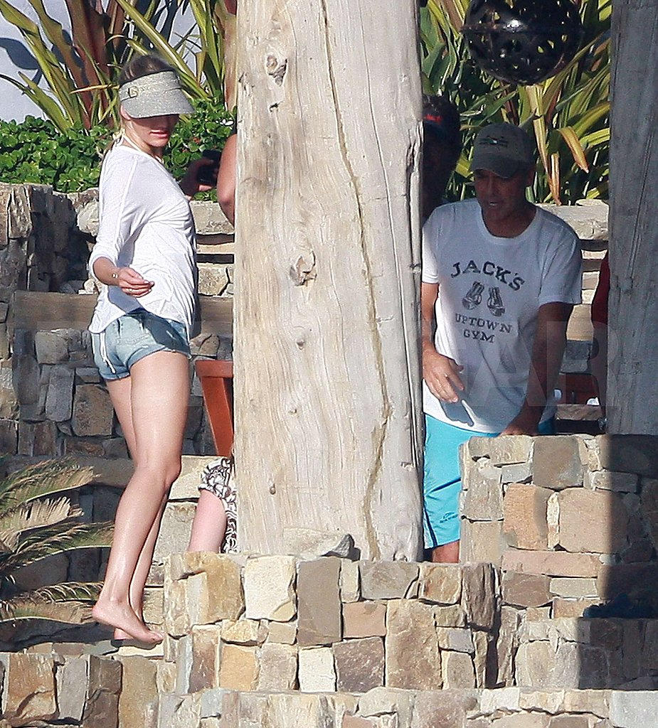 Cameron Diaz and George Clooney Meet Up in Mexico