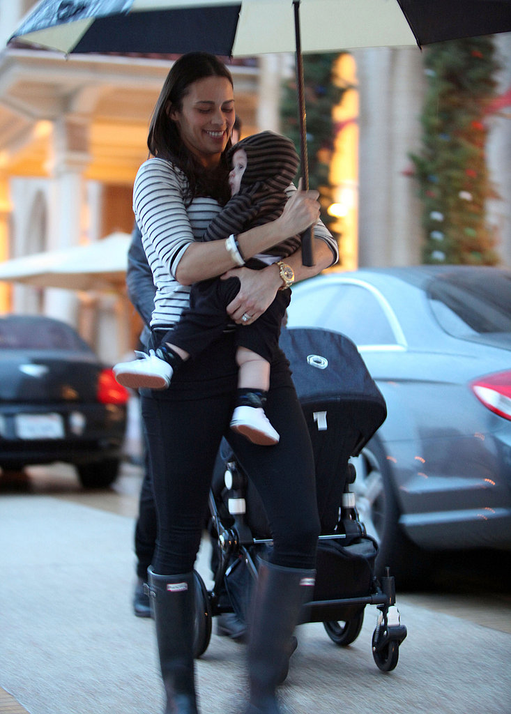 Robin Thicke and Paula Patton Take Their Adorable Son Julian Shopping