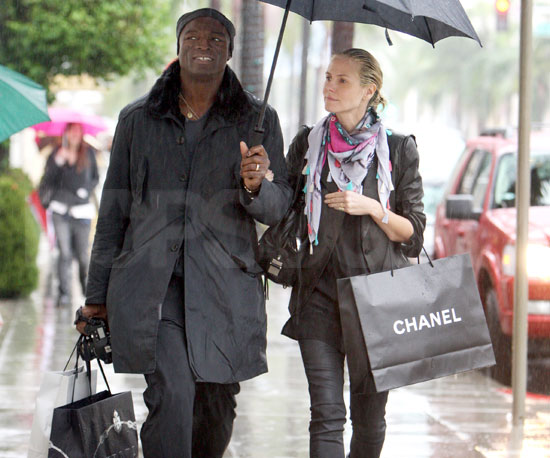 Shopping in the Rain