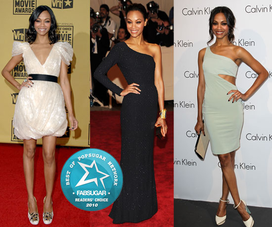 2010 Red Carpet Queen of the Year: Zoe Saldana