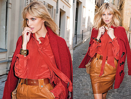 Mango's Fall/Winter Ads as Modeled by Fab Favorite Anja Rubik
