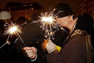 New Year's Eve Midnight Kiss