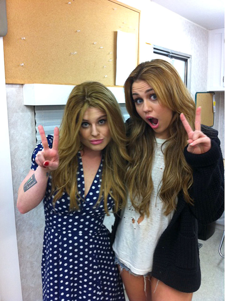 Pictures of Kelly Osbourne and Miley Cyrus
