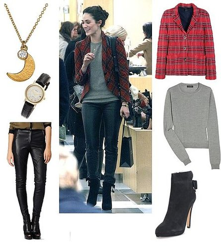 Emmy Rossum Goes Equestrian Chic While Shopping
