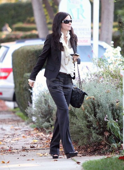 Courteney Cox and Coco Spend Christmas Eve With Jennifer Aniston