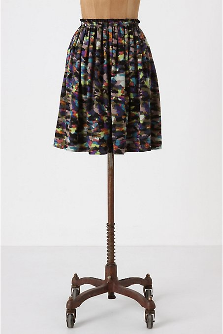 Proenza Schouler, Suno, and Vena Cava were all about modest and full-skirted hemlines for Spring. We heart this pleated print version from Corey Lynn Calter.  Corey Lynn Calter Paint Swatch Skirt ($148)