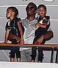 Pictures of Kim Porter in a Bikini in St Barts With Diddy and Their Twins