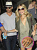 Pictures of LeAnn Rimes's Engagement Ring With Eddie Cibrian at LAX