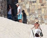 Elisabetta Tans Her Bikini Body and George Clooney Enjoys the View in Mexico