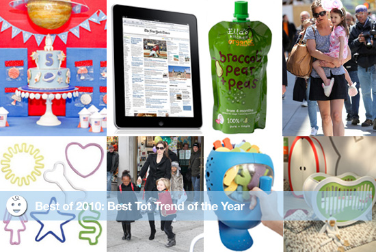 Best of 2010: Best Tot Trends of the Year