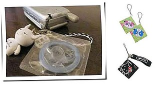 Cell Phone Condom Charms