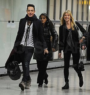 Pictures of Kate Moss Going on a Holiday Vacation With Jamie Hince and Daughter Lila