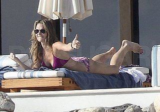 Pictures of Molly Sims in a Bikini While on Vacation in Cabo