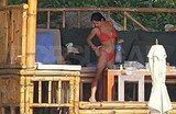 Salma Hayek and Valentina Pinault Wear Their Bikinis to the Beach!