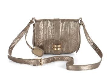 Metallic Mini Cross-Body Satchel ($89, originally $178)
