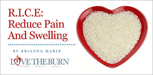 R.I.C.E: Reduce Pain And Swelling