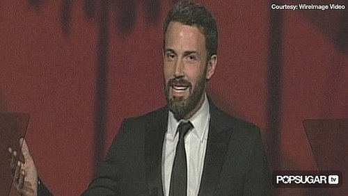 Video of Ben Affleck at the 2011 Palm Springs Film Festival