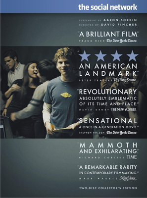 The Social Network on DVD