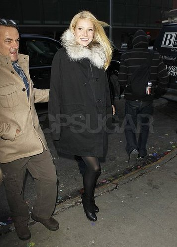 Pictures of Gwyneth Paltrow Promoting Country Strong in New York