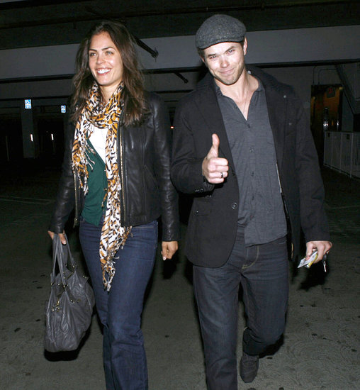 Kellan Lutz Welcomes 2011 With a Good Attitude and a New Lady