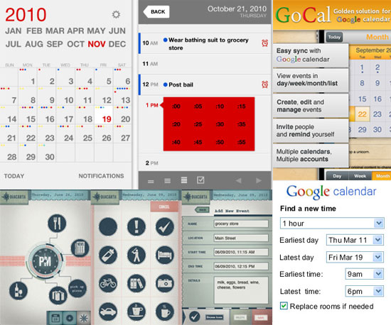 5 Calendar Apps and Tools to Keep You on Time in 2011