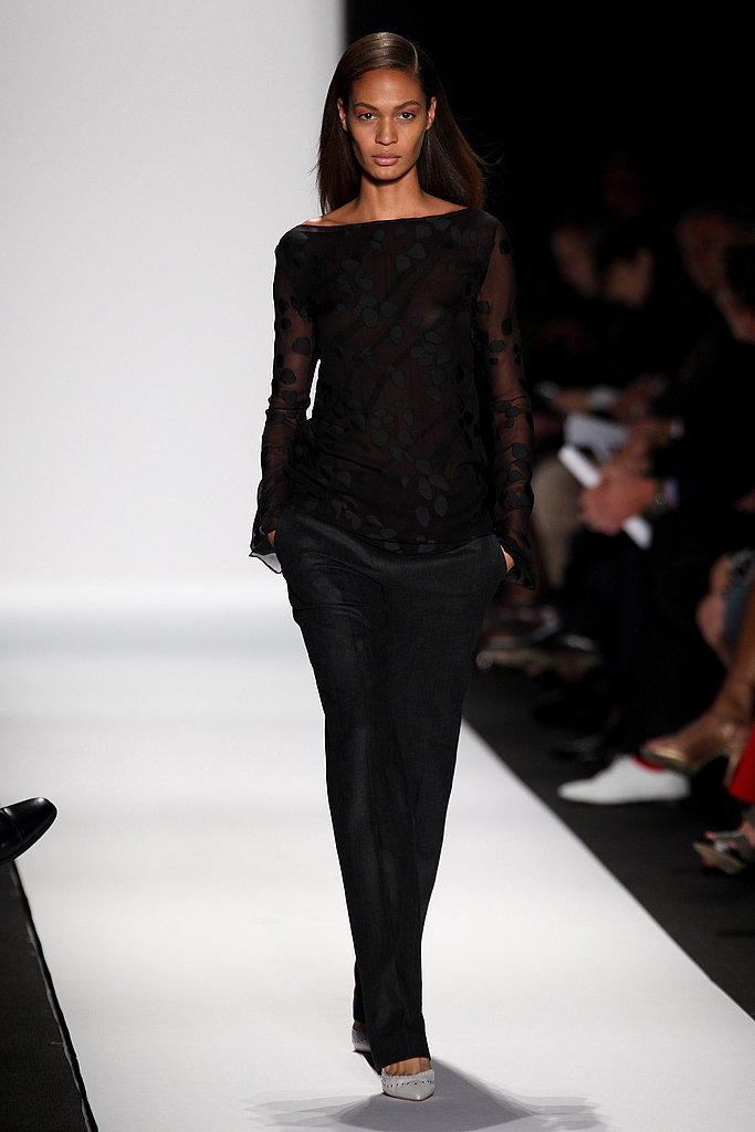 Walking the runway at Narciso Rodriguez Spring 2011.