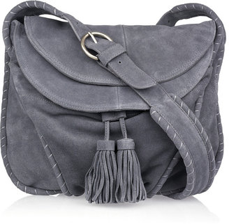 Vanessa Bruno Tasseled Suede Shoulder Bag ($860)