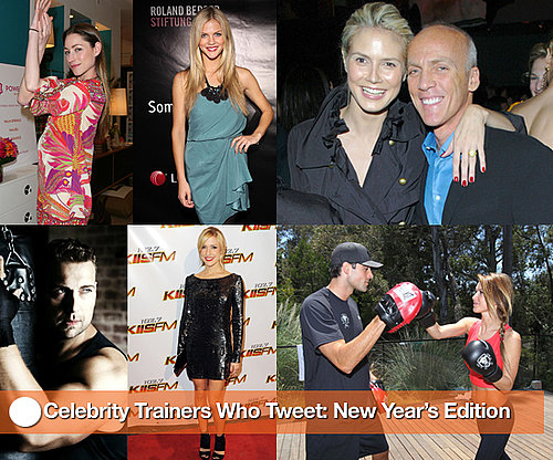 Celebrity Trainer Fitness Advice Via Twitter