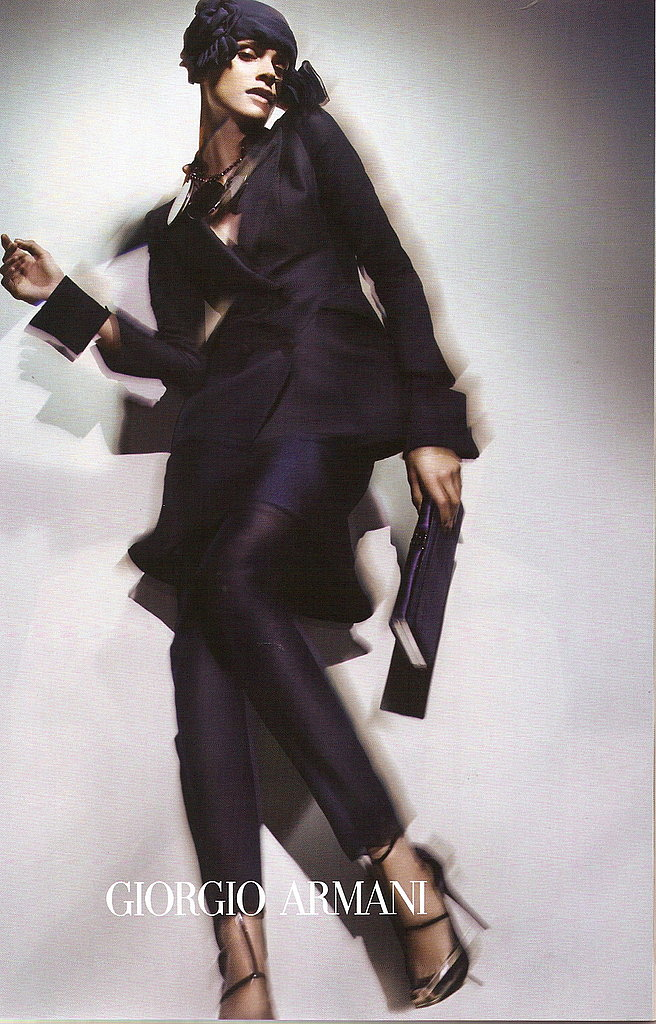Elisa Sednaoui for Giorgio Armani, by Nick Knight
