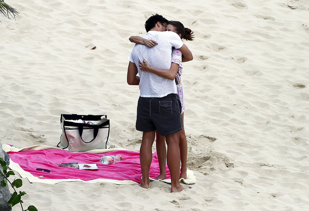 Olivia Palermo Gets Sexy in St. Barts With a Steamy Beachside Kiss