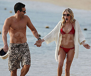 Slide Picture of LeAnn Rimes in a Bikini With Shirtless Eddie Cibrian