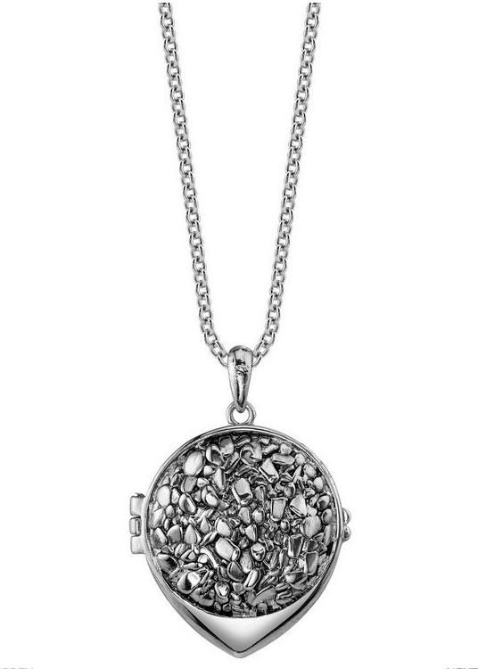 Nugget Belle Locket in Palladium ($45)