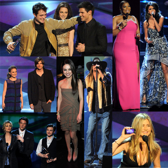 Pictures of Twilight, Queen Latifah, Natalie Portman, Jennifer Aniston, Selena Gomez at People's Choice Awards