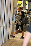 A Fresh-From-Rehab Lindsay Lohan Hits the Gym