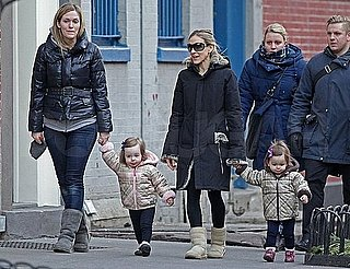Pictures of Sarah Jessica Parker in NYC with Walking Twins Marion and Tabitha