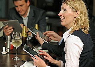 Restaurants Using iPad Wine Lists or Menus