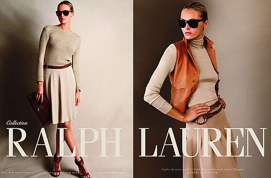 Valentina Zelyaeva for Ralph Lauren