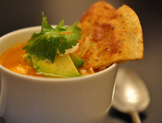 Spicy Chicken Tortilla Broth