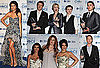 Pictures of Kim Kardashian, Zac Efron, Jane Lynch, Selena Gomez in the 2011 People's Choice Award Press Room 2011-01-06 06:40:36