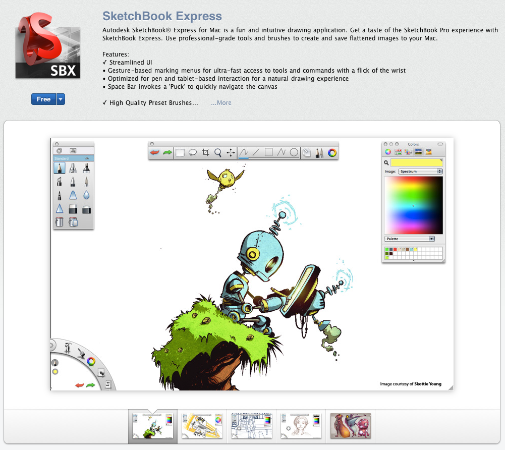 SketchBook Express (Free)