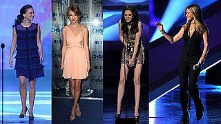 Natalie Portman, Kristen Stewart, Jennifer Aniston at the 2011 People's Choice Awards