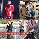 Pictures of Lea Michele, Emma Stone, Blake Lively on Set