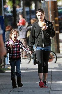 Pictures of Black Swan's Mila Kunis Out in LA