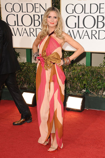 Heidi Klum in Marc Jacobs