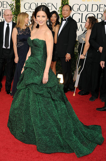Catherine Zeta-Jones in Monique Lhuillier