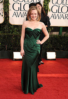 Pictures of Elisabeth Moss Wearing Donna Karan at the 2011 Golden Globe Awards 2011-01-16 16:03:38