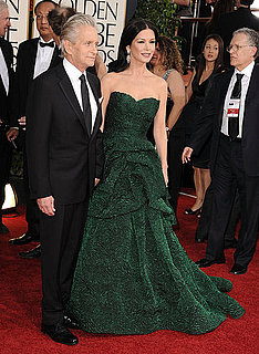 Pictures of Michael Douglas and Catherine Zeta-Jones at 2011 Golden Globe Awards